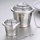 ราคาถูก ก๊อกน้ำห้องครัว-เหล็กกล้าไร้สนิม Manual 1pc Passoires à Thé / ของขวัญ / ทุกวัน / ชา
