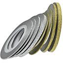 ราคาถูก สติกเกอร์ติดเล็บ-8rolls/set Stickers & Tapes / สติกเกอร์ฟอยล์ 3D / อุปกรณ์ตกแต่งเล็บ DIY Nail Art เครื่องมือและอุปกรณ์ / การออกแบบเล็บ