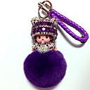 ราคาถูก พวงกุญแจ-พวงกุญแจ Diamond น่ารัก คริสตัล 1 pcs Cartoon ผู้ใหญ่ เด็กผู้ชาย เด็กผู้หญิง Toy ของขวัญ