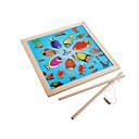 Χαμηλού Κόστους Παιχνίδια ψαρέματος-Παζλ Ψάρεμα παιχνίδια Δημιουργικό Πρωτότυπες Πάπια Ψάρια Ξύλινος Παιδικά Αγορίστικα Παιχνίδια Δώρο
