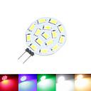 billiga LED-bi-pinlampor-SENCART 1.5 W LED-spotlights 100-150 lm G4 MR11 15 LED-pärlor SMD 5630 Bimbar Varmvit Naturlig vit Röd 12 V 24 V 9-30 V / 1 st / RoHs