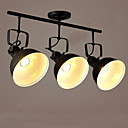 billiga Spotlights-3-Light Spotlight Glödande Målad Finishes Metall Ministil 110-120V / 220-240V / E26 / E27