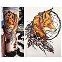 baratos Tatuagens Temporárias-1 pcs Tatuagem Adesiva Tatuagens temporárias Série dos desenhos animados Impermeável Arte para o Corpo Braço