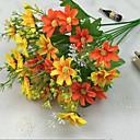 Χαμηλού Κόστους Ψεύτικα Λουλούδια-Ψεύτικα λουλούδια 1 Κλαδί Μοντέρνο Στυλ Μαργαρίτες Λουλούδι για Τραπέζι