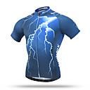 ราคาถูก ของเล่นแม่เหล็ก-XINTOWN สำหรับผู้ชาย สำหรับผู้หญิง แขนสั้น Cycling Jersey สีน้ำเงิน ทับทิม ขนาดพิเศษ จักรยาน Tops ระบายอากาศ แห้งเร็ว กระเป๋าหลัง กีฬา Terylene ขี่จักรยานปีนเขา Road Cycling เสื้อผ้าถัก / ยืด