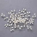 cheap Party Headpieces-Imitation Pearl Hair Combs with 1 Wedding / Special Occasion / Halloween Headpiece