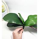 Χαμηλού Κόστους Ψεύτικα Λουλούδια & Βάζα-Ψεύτικα λουλούδια 1 Κλαδί Ποιμενικό Στυλ Ορχιδέες Λουλούδι για Τραπέζι