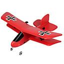 ราคาถูก เครื่องบินควบคุมระยะไกล-Glider RC 2.4กรัม เครื่องบิน RC สีแดง Some Assembly Required Remote Controller Aircraft USB Cable User Manual