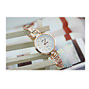 ราคาถูก ตุ้มหู-สำหรับผู้หญิง นาฬิกาสร้อยข้อมือ จำลอง Diamond Watch นาฬิกาอิเล็กทรอนิกส์ (Quartz) สแตนเลส แดง 30 m / อะนาล็อก-ดิจิตอล วินเทจ - ขาว
