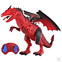 ราคาถูก ฟิกเกอร์ไดโนเสาร์-Remote Control Toys มังกรและไดโนเสาร์ Model Building Kits ชาร์จใหม่ได้ สัตว์ต่างๆ ควบคุมรีโมท มังกร Triceratops ไดโนเสาร์ยุคจูราสสิก พลาสติก คลาสสิกและถาวร สำหรับเด็ก เด็กผู้ชาย Toy ของขวัญ