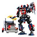 Χαμηλού Κόστους Ρομπότ-GUDI Ρομπότ Παιχνίδια αυτοκίνητα Τουβλάκια 377 pcs Πολεμιστής Μηχανή Ρομπότ συμβατό Legoing Μεταμορφώσιμος Δημιουργικό Απίθανο Κλασσικό & Διαχρονικό Κομψό & Πολυτελές Εντυπωσιακό & Δραματικό