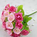 זול חוט נורות לד-פרחים מלאכותיים 1 ענף סגנון מודרני ורדים פרחים לשולחן