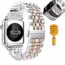 Χαμηλού Κόστους Κοστούμια για Ενήλικες-Παρακολουθήστε Band για Apple Watch Series 5/4/3/2/1 Apple πεταλούδα πόρπης Ανοξείδωτο Ατσάλι Λουράκι Καρπού