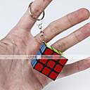 billiga Nageltorkare och lampa-Magic Cube IQ-kub Mjuk hastighetskub Magiska kuber Nyckelknippa Pusselkub Lena klistermärken Klassisk Kul Fun & Whimsical Klassisk Barn Vuxna Leksaker Unisex Pojkar Flickor Present