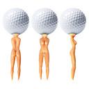 ราคาถูก อุปกรณ์เสริมสำหรับการตีกอล์ฟ-Golf Ball / อุปกรณ์กอล์ฟ กันน้ำ / Portable / ใช้ใหม่ได้ พลาสติก สำหรับ Golf - 50 ชิ้น