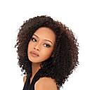 billige Blondeparykker med menneskehår-Ekte hår Helblonder uten lim Helblonde Parykk stil Brasiliansk hår Kinky Curly Parykk 130% Hair Tetthet 8-26 tommers med baby hår Naturlig hårlinje Afroamerikansk parykk 100 % håndknyttet Dame Kort