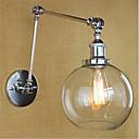 ราคาถูก โคมไฟติดผนังด้านข้าง-Country Retro ไฟสวิงอาร์ม สำหรับ โลหะ โคมไฟติดผนัง 110-120โวลล์ 220-240โวลต์ 40W