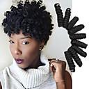 Χαμηλού Κόστους Συνθετικές περούκες χωρίς σκουφί-Bouncy Curl Saniya Curl Πλεξούδες Twist Πλεξούδες βελονάκι προ-βρόχου Curlkalon Hair Ombre 100% μαλλιά kanekalon Kanekalon Πλεκτά 10 inch Μαλλιά για πλεξούδες 20 ρίζες / πακέτο Εμπλοκή ελεύθερη