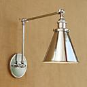 povoljno Zidni svijećnjaci-Modern/Comtemporary Zemlja Retro Svjetla za osvjetljavanje Za Metal zidna svjetiljka 110-120V 220-240V 40W