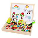 billiga Läsleksaker-Teckningsleksak Leksaksritplattor Utbildningsleksak Leksaker Magnet Barns Barn 1 Bitar