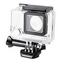 Χαμηλού Κόστους Αξεσουάρ Μουσικών Οργάνων-Προστατευτική θήκη Αδιάβροχο περίβλημα Αδιάβροχη 45Μ 1 pcs Για την Κάμερα Δράσης Gopro 3+ Καταδύσεις Σέρφινγκ Κατασκήνωση & Πεζοπορία PVC