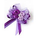 """זול פרחי חתונה-פרחי חתונה פרחי דש חתונה / מסיבה\אירוע ערב מֶשִׁי 5.51""""(לערך.14ס""""מ)"""