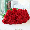 povoljno Umjetna Cvijet-Umjetna Cvijeće 10 Podružnica Europska Style Roses Cvjeće za stol