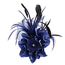 Χαμηλού Κόστους Λουλούδια Γάμου-Ύφασμα / Σατέν Γοητευτικά / Λουλούδια / Εργαλείο τρίχας με 1 Γάμου / Ειδική Περίσταση / ΕΞΩΤΕΡΙΚΟΥ ΧΩΡΟΥ Headpiece
