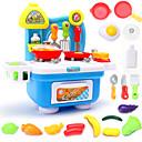 billiga Hundkläder-Toy köksutrustning Leksaks svDishes & Tea set Leksaksmat pvc Barn Pojkar Flickor Leksaker Present