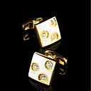 Χαμηλού Κόστους Μανικετόκουμπα Ανδρικά-Geometric Shape Χρυσαφί Butoni Χαλκός Δώρο Κουτιά & Τσάντες / Μοντέρνα Ανδρικά Κοστούμια Κοσμήματα Για