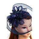 Χαμηλού Κόστους Καπέλα και Διακοσμητικά-Τούλι / Φτερό / Δίχτυ Γοητευτικά / Καπέλα / Καλύμματα Κεφαλής με Φλοράλ 1pc Γάμου / Ειδική Περίσταση Headpiece