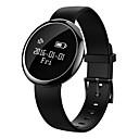 billige Smartwatch Bands-Smart armbånd til iOS / Android Pulsmåler / Blodtrykksmåling / Kalorier brent / Lang Standby / Pekeskjerm Stoppeklokke / Aktivitetsmonitor / Søvnmonitor / Stillesittende sittende Påminnelse / Finn