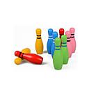 billiga Syntetiska peruker utan hätta-Kulor Träpussel Bowlingleksaker Miljövänlig Färgglad Trä Barn Pojkar Flickor Leksaker Present