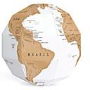 ราคาถูก เครื่องทดสอบและเครื่องตรวจจับ-Globe ลูกบอล DIY สำหรับเด็ก ทุกเพศ Toy ของขวัญ