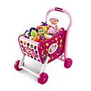 ราคาถูก ของเล่นชอปปิง & ร้านค้า-ชุดครัวของเล่น Pretend Play ขนาดใหญ่ พลาสติก ABS สำหรับเด็ก ทุกเพศ เด็กผู้ชาย เด็กผู้หญิง Toy ของขวัญ