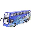 ราคาถูก รถของเล่น-รถของเล่น รถบรรทุก รถบัส รถเมล์สองชั้น การจำลอง เพลงและแสง ทุกเพศ Toy ของขวัญ