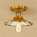 baratos Luminárias de Teto-Luzes Pingente Luz Ambiente Galvanizar Metal Estilo Mini, Designers 110-120V / 220-240V Lâmpada Incluída / E26 / E27