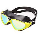 billiga Bakformar-Simglasögon Vattentät Anti-Dimma Justerbar storlek Anti-UV Reptåligt Stöttålig Kiselgel PC Gul Svart Blå Vit Ljusgul Ljusguld