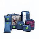 זול תיקי טיולים-7 יח ' ארגונית נסיעות / ארגונית נסיעות למזוודה קיבולת גבוהה / עמיד למים / נייד בגדים / נעליים ניילון נסיעות