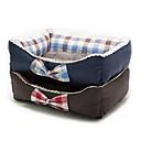 ราคาถูก ผ้าคลุมโซฟา-แมว สุนัข เบาะที่นอน ที่นอน ผ้าห่มเตียง เสื่อ & แผ่นปู ผ้า นุ่ม Plaid / Check แดง ฟ้า