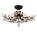 billiga Plafonder-LightMyself™ 8-Light Takmonterad Glödande Målad Finishes Metall Kristall, LED 110-120V / 220-240V Glödlampa inte inkluderad / E12 / E14