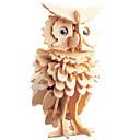 ราคาถูก จิ๊กซอว์3D-3D-puslespill Puslespill ปริศนาไม้ Owl DIY 1 pcs สำหรับเด็ก ผู้ใหญ่ ทุกเพศ เด็กผู้ชาย เด็กผู้หญิง Toy ของขวัญ