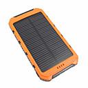 billiga folie Papper-10000 mAh Till Power Bank Externt batteri 5 V Till 3.1 A / # Till BATTERILADDARE Vattentät / Flerutgång / Solenergisuppladdning LED