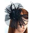 povoljno Party pokrivala za glavu-Perje / Net Trake za kosu / Fascinators / Cvijeće s Cvjetni print 1pc Vjenčanje / Special Occasion Glava