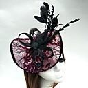Χαμηλού Κόστους Καπέλα και Διακοσμητικά-Τούλι / Φτερό / Δίχτυ Kentucky Derby Hat / Κεφαλές / Γοητευτικά με 1 Γάμου / Ειδική Περίσταση Headpiece / Καπέλα