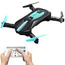 ราคาถูก โดรนควบคุมระยะไกลและ Multi-Rotors-RC Drone JY 018 4CH 6 แกน 2.4กรัม With HD Camera 2.0MP 720P RC Quadcopter FPV / โคมไฟ LED / 1 คีย์สำหรับรีเทิร์น RC Quadcopter / สายเคเบิ้ล USB / User Manual / ออโต้วิ่งขึ้น / โหมดไร้หัว / โฉบ