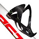 billige Setestolper og sadler-Sykkel Water Bottle Cage Karbonfiber Ultra Lett (UL) Holdbar Til Sykling Vei Sykkel Fjellsykkel BMX TT Foldesykkel Karbonfiber 1pcs cage+2pcs screws