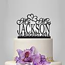 povoljno Figure za tortu-Figure za torte Vrt Tema / Klasični Tema Opeka Vjenčanje / godišnjica / Djevojačka večer s 1 pcs OPP