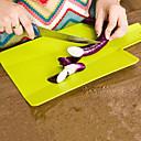 Χαμηλού Κόστους Συσκευές κουζίνας-Πλαστική ύλη Επιφάνεια Κοπής Δημιουργική Κουζίνα Gadget Εργαλεία κουζίνας Για μαγειρικά σκεύη