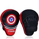Χαμηλού Κόστους Γάντια του μποξ-Γάντια για γροθιές Για Πυγμαχία Ασκήσεις ενδυνάμωσης Δερμάτινο Θαλασσί Μαύρο Ρουμπίνι